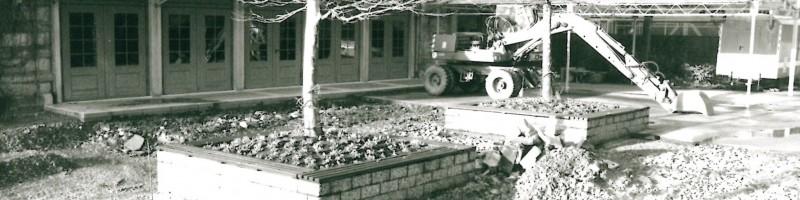 East Terrace • Renovation 1991