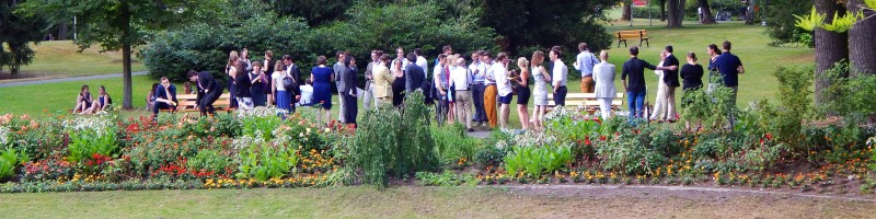 Young Friends of Bayreuth • Meeting on the Green Hill after the last rehearsals