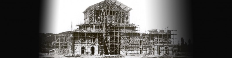 Building the Festpielhaus (here 1873) might be quicker than renovate it — our upcoming challenge!