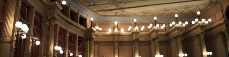Festspielhaus Bayreuth • Ceilings